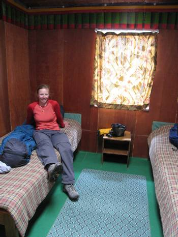 Our room here in Lobuche. Photo by Paul Adler